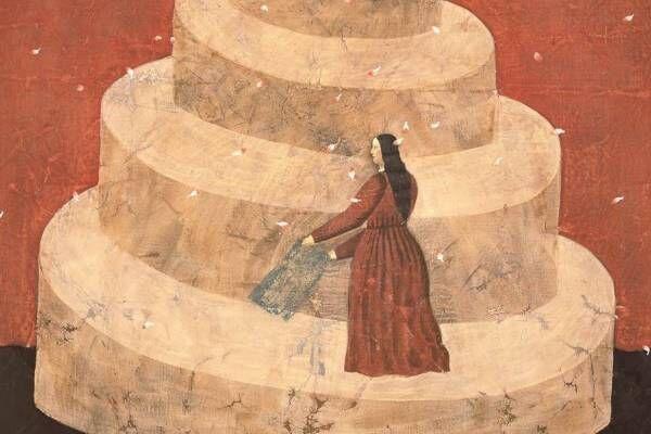 【開催中止】有元利夫の展覧会がBunkamura ザ・ミュージアムで - 東洋・西洋が交錯する絵画