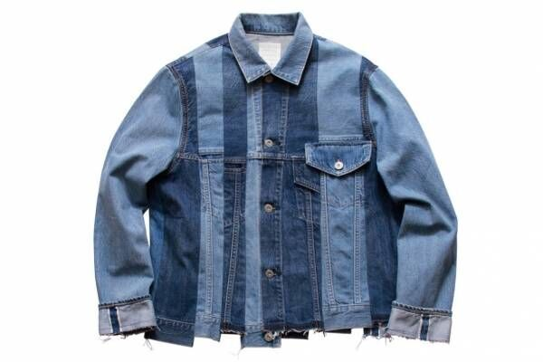 "KUROのリメイクデニムジャケットが銀座限定で、""螺旋階段""イメージの裾デザイン"