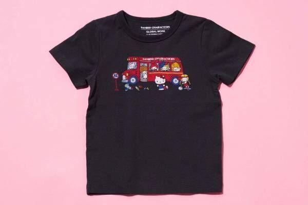 ハローキティのキッズTシャツがグローバルワークから、マイメロディなどサンリオ人気キャラデザインも