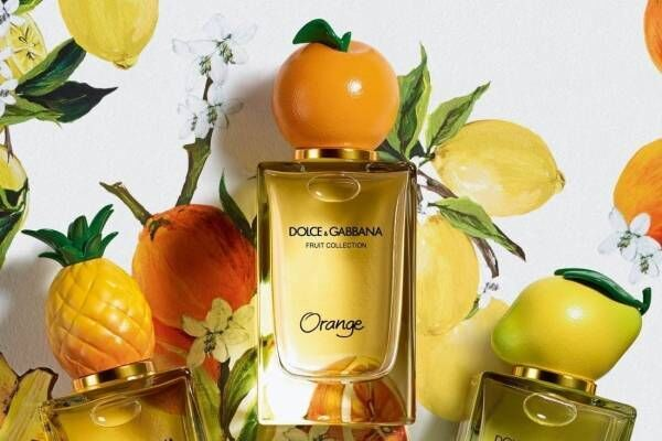 ドルチェ&ガッバーナ ビューティ「レモン・オレンジ・パイナップル」の新フルーツフレグランス