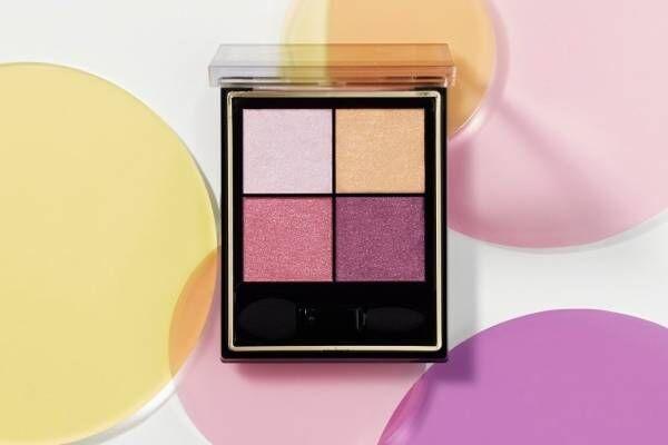 エクセル4色アイシャドウに限定色、こなれ感演出のピンクトーンパレット