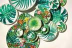 """エルメス""""エデンの園""""着想のテーブルウェア「パシフォリア」植物モチーフのマグカップや大皿など"""