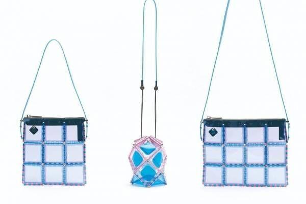 カラフルな透明PVCバッグ2020年春夏の新作、元バオ バオ イッセイ ミヤケ・松村光がデザイン