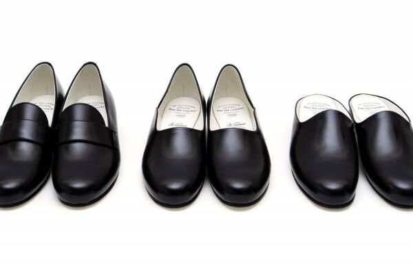 """フット ザ コーチャー、50年代フレンチスタイルに着想した""""上品ミニマル""""なメンズローファーなど3型"""