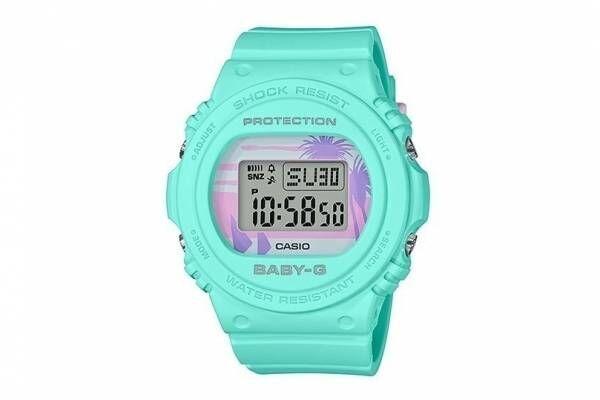 BABY-Gの新作腕時計「80's ビーチカラーズ」ポップなミントグリーンやパステルピンク