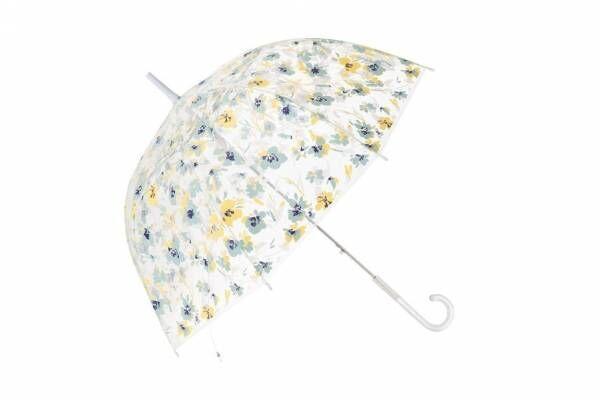 フランフラン新作レイングッズ、ロマンティックなドーム型ビニール傘やPVC素材のクリアバッグ
