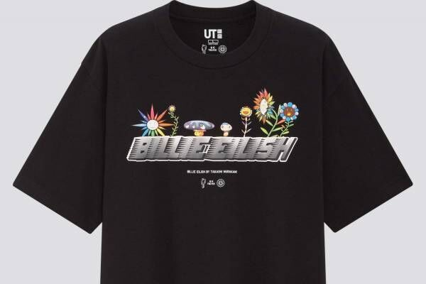 ユニクロUT、ビリー・アイリッシュ&村上隆とのコラボTシャツ発売