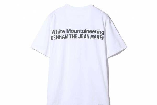 デンハム×ホワイトマウンテニアリング、8個のポケット付きショートブルゾン&タフなロゴ入りTシャツ