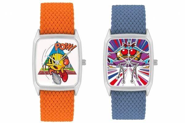 パックマンやゼビウスの腕時計、ナムコミュージアム×アートウォッチブランド「ラプス」のコラボで登場