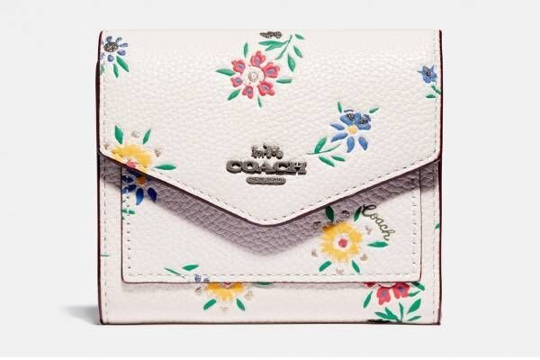 コーチの人気レディース・ウォレット、小花模様のミニ財布や「iPhone X」収納可能な長財布など