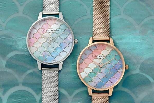 """オリビア・バートン新作腕時計、""""海の中""""を表現したグリッター×グラデーションの文字盤など"""