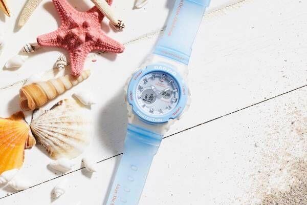 BABY-Gからサンゴが暮らす海を表現した新作腕時計、サンゴ保護団体「アクアプラネット」とコラボ