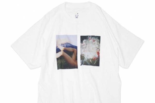 ファセッタズム落合宏理「F」×ギャラリー「ボイルド」Tシャツ、写真家の作品をプリント