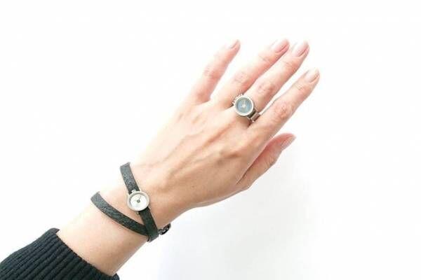 """""""指輪""""になる小さな時計「リルサークル」ノルディックフィーリングに、指時計&腕時計の2WAY"""