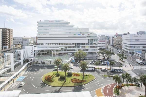 「アミュプラザみやざき」シネコン含むJR宮崎駅西口の大型商業施設、高架下商業エリアも
