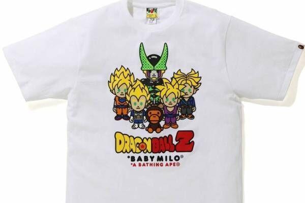 ベイプ×ドラゴンボールZ、Tシャツやフーディーなど - 悟空やセルをべイビーマイロ風に描いて