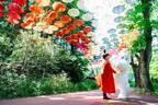 ムーミンバレーパーク&メッツァビレッジ、約2,000本のカラフルな傘の世界広がる限定イベント