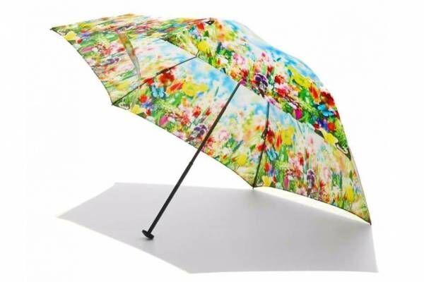 """蜷川実花のM / mika ninagawa""""花柄""""グラフィックの折りたたみ傘、ディーベックとコラボ"""