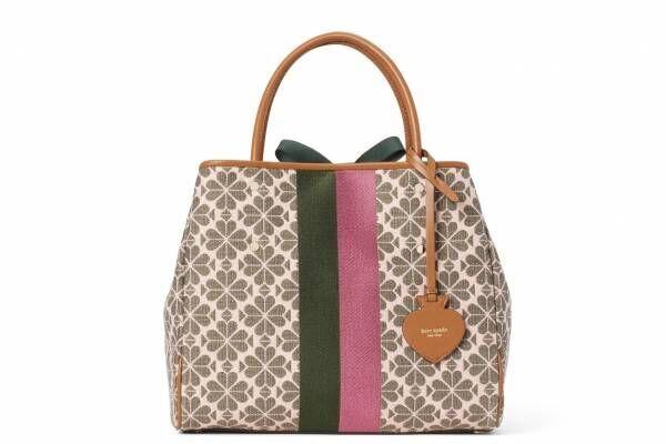 ケイト・スペードの20年秋バッグ、フローラルスペードをベースにした「シグネチャーコレクション」
