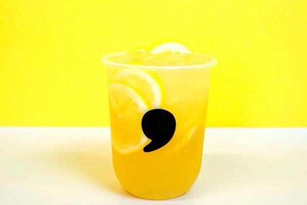 コンマティーから夏限定「ハニーレモネード」新鮮レモン果汁×はちみつの爽やかドリンク