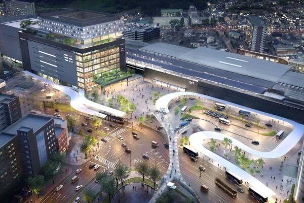 熊本駅周辺の再開発 -「アミュプラザくまもと」にシネコンやユニクロ出店、ホテル「ザ ブラッサム」も