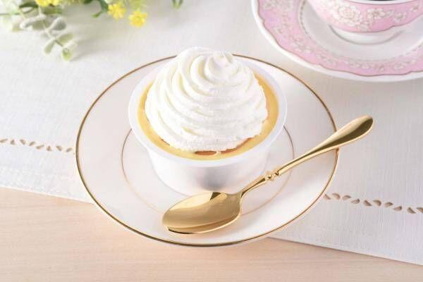 """ファミリーマートの新作スイーツ、""""山盛りクリーム""""のチーズケーキや濃厚プリンのもちもちクレープ"""