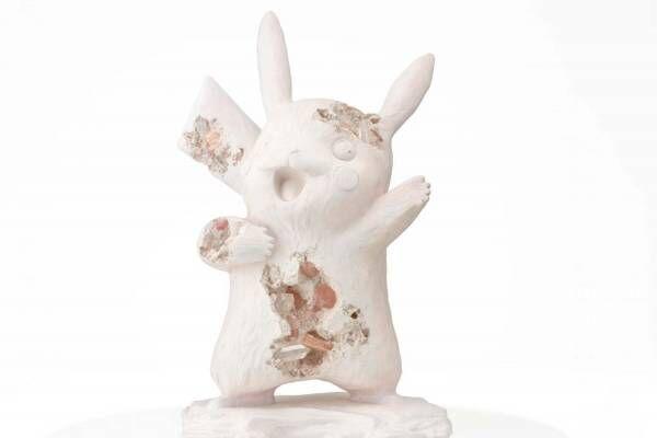 ポケモン×ダニエル・アーシャムの展覧会が渋谷パルコで、未公開彫刻作品が集結&約2mのピカチュウも