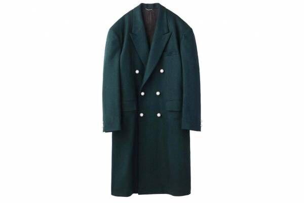 """ジョン ローレンス サリバンの新作コート&セットアップ、""""パール""""を配したジャケットやスリットパンツ"""