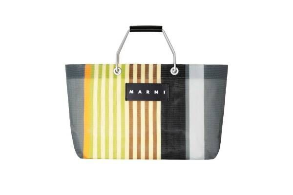 「マルニ ストーン マーケット」表参道ヒルズに限定オープン、人気のストライプバッグの新色も