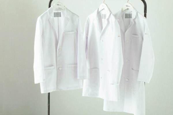 ロンハーマン×クラシコの白衣第4弾、カバーオール着想のジャケット白衣やカラフルトップス