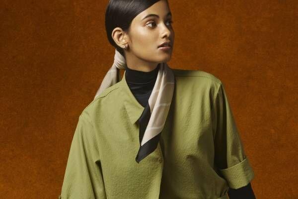ハナ タジマ フォー ユニクロ 2020年秋冬新作、草木から着想を得たプリントワンピースやシャツ