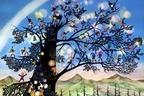"""「藤城清治版画展」大丸東京店で、""""光と影""""を表現した影絵作品の複製画100点を展示販売"""
