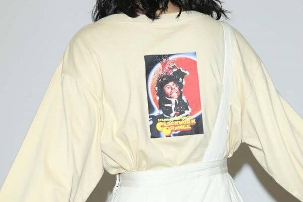 SLY×スタンリー・キューブリック代表作、『時計じかけのオレンジ』映画ポスター入りTシャツなど