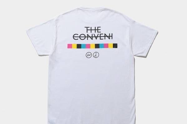 フラグメント デザイン×G-DRAGON「ピースマイナスワン」ロゴ入りTシャツ、銀座ザ・コンビニで