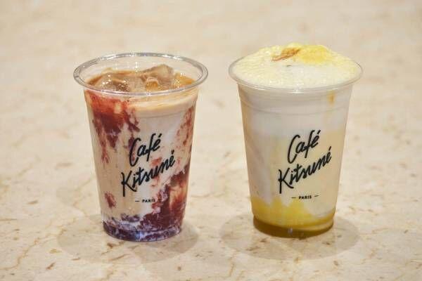 「カフェ キツネ」渋谷ミヤシタパークに新店 - 自家焙煎豆のコーヒーを提供、限定モカ&カプチーノも