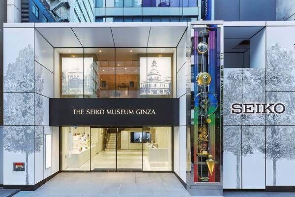 時と時計の博物館「セイコーミュージアム 銀座」スポーツウオッチや江戸時代の和時計など展示約500点
