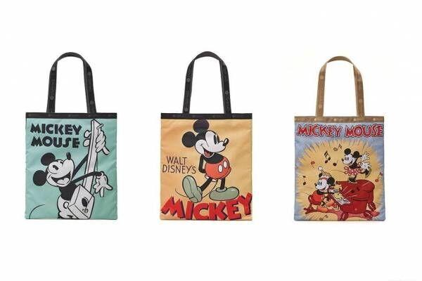 レスポートサック「ミッキーマウス」ヴィンテージポスター&コミックモチーフのバッグやポーチ