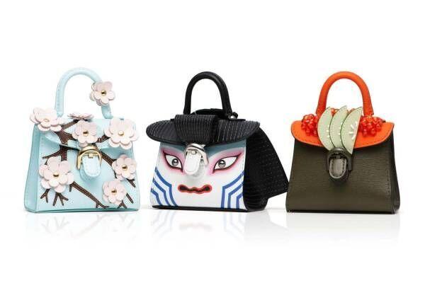 """デルヴォー人気バッグ「ブリヨン」がミニチュアサイズに、歌舞伎&寿司など""""日本""""がモチーフ"""