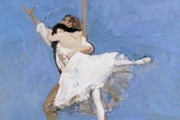 """「ロバート・ハインデル展」代官山ヒルサイドフォーラムで、バレエを描いた""""現代のドガ""""の油彩画"""