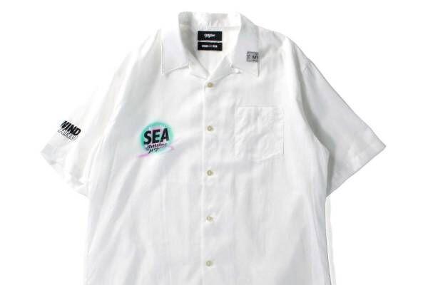 ウィンダンシー×マイン、ハンドメイドのスプレーアートをのせたTシャツ&開襟シャツ