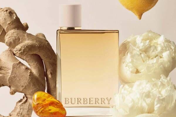 バーバリーの新香水「バーバリー ハー ロンドン ドリーム」ロマンティックに香るフルーティ フローラル