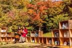 「紅葉図書館」本と紅葉とカフェ時間を楽しむイベントが軽井沢星野エリアで、おいしいリンゴスイーツも