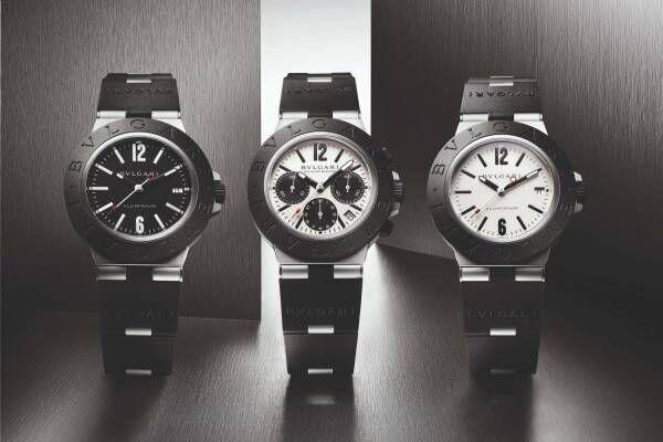 ブルガリのユニセックス腕時計「ブルガリ アルミニウム」が一新、優れた耐久性と付け心地を実現