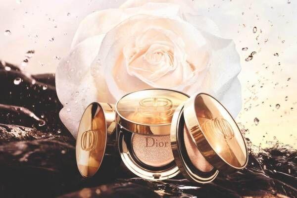 """ディオール""""バラのような美肌""""を叶えるクッション ファンデーションが新デザインに"""