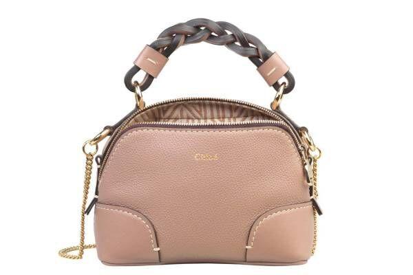 """クロエのバッグ「ダリア」にミニサイズ、""""精霊のような""""少女イラストやソフトピンクをのせて"""