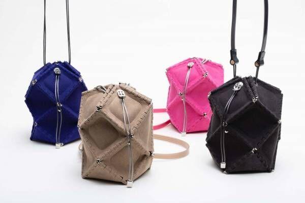 ゴジュウニ バイ ヒカルマツムラのバッグ「ミス ロボット」スエード風素材&レザーを使った新作