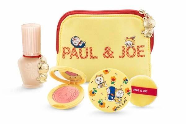 「ポール & ジョー ボーテ」ドラえもんとドラミちゃんのクリスマスコフレ、ドラえもんの艶リップも