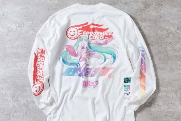 """ベイト""""晴れ着姿の初音ミク""""を描いたTシャツ、「グッドスマイルレーシング」とコラボ"""