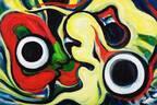 """東京・岡本太郎記念館で「対峙する眼」展 - 岡本太郎の絵画の""""向かい合ういのち""""に焦点"""