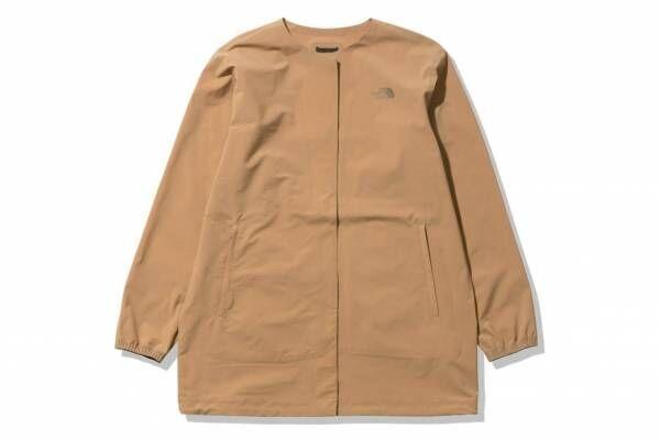 """ザ・ノース・フェイス""""バッグに収まる""""新作軽量アウター、襟無しジャケットやダウンカーディガン"""